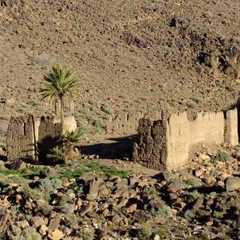 Old Kasbah in the Sahro