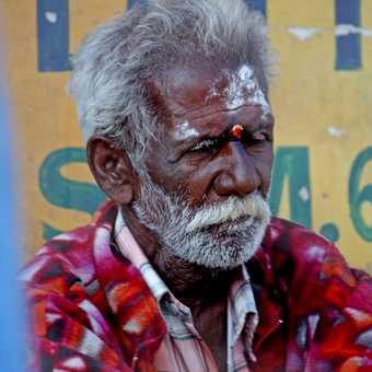 Shoe seller at Munnar