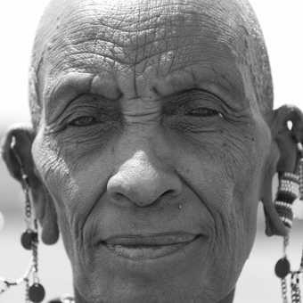 Elderly Masai Lady