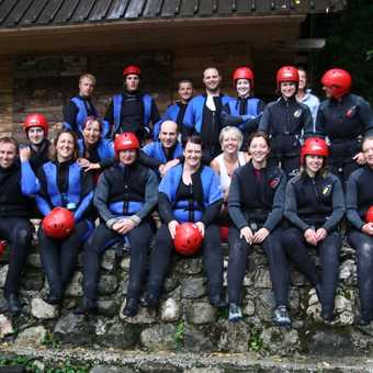 Happiness is canyoning in the rain!