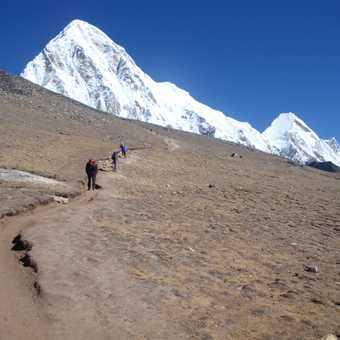 Up to Kala Pathar