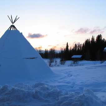 Tipee at lodge