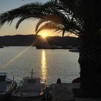Sunset in Karystos