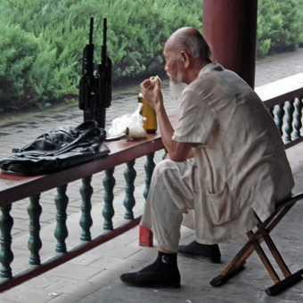 local man at summer palace