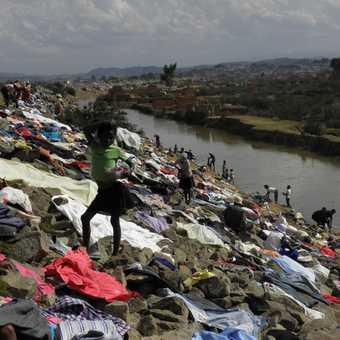 Laundry in Tana
