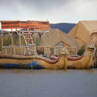 reed boats, Isla Uros
