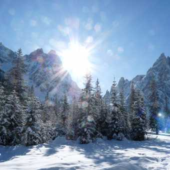 Sunny Dolomites