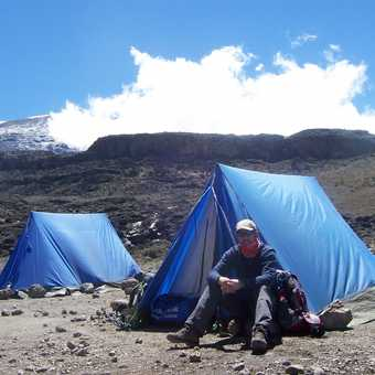 me, my tent and peace!