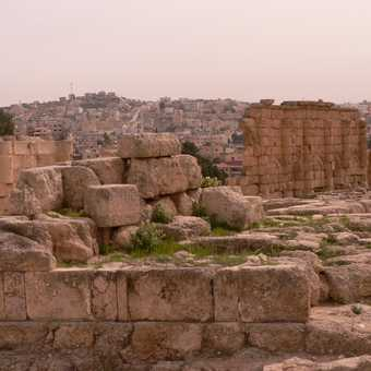 Jerash the old and the new