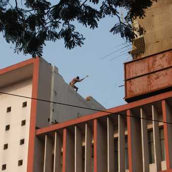 Demolition, Indian style, central Kolkata