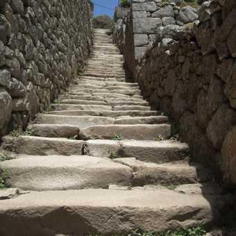 More Inca steps