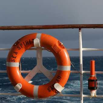 Heading across Drake's Passage