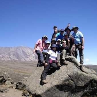 Heading towards Kibo peak