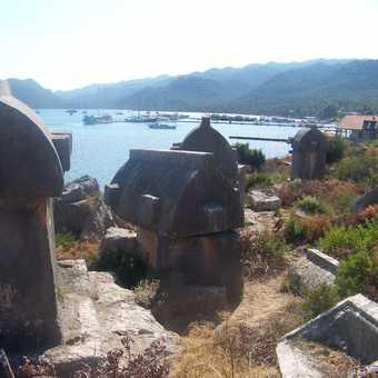 Tombs in Ucagiz