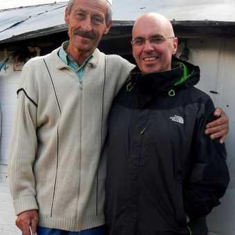 Me and Mr Lukomir.