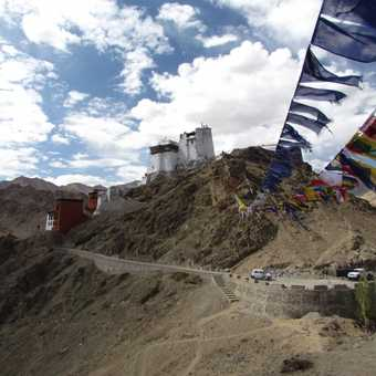 Namgyal Hill and the Stok Range