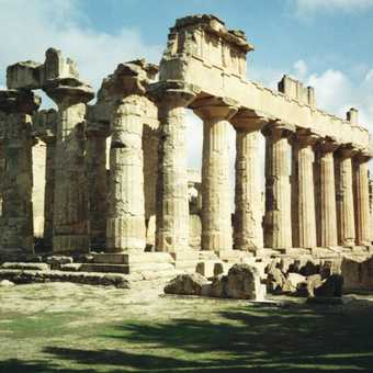 The Temple of Zeus at Cyrene