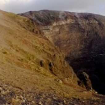 Summit Crater of Mount Vesuvius