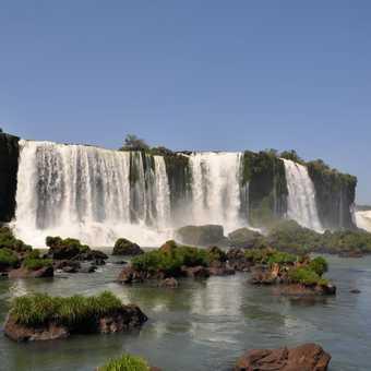 Waterfall at Iguassu
