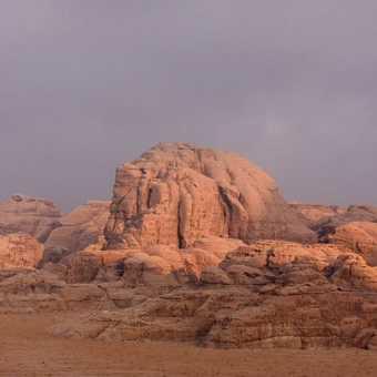 Evening light Wadi Rum