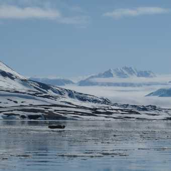 The spectacular view at Liefdefjordan