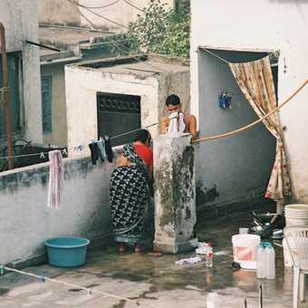 Roof-top living in Delhi