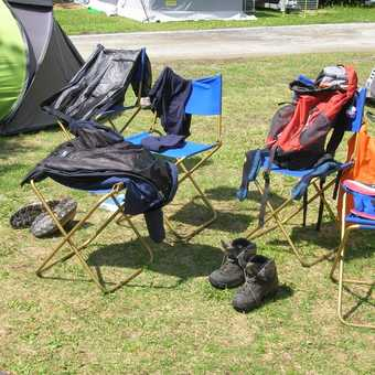 It' not always dry....kit drying out...be prepared.