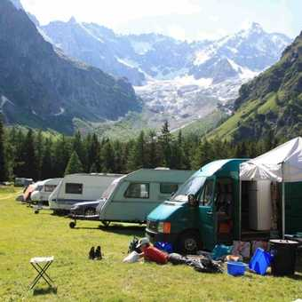 Campsite at Le Fouly