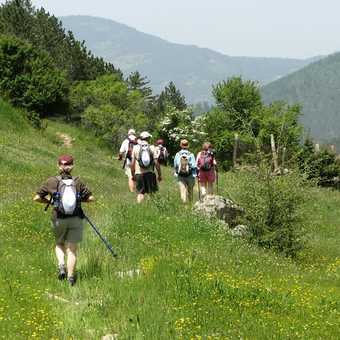 Trail to Trigrad Gorge