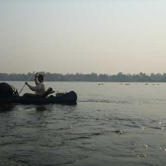 Peaceful morning paddling along