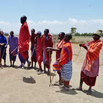 Spot the non-Masai