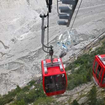 Cable car down to the Glacier