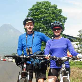 Pete & Janet - Volcan Arenal