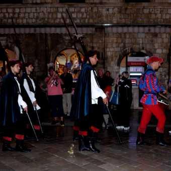 Dubrovnik dance band.