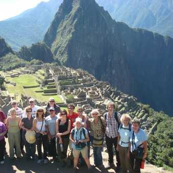 Machu Picchu Group photo