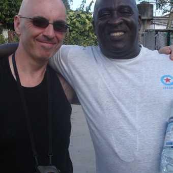 Jose Luis Garcia Gutierrez, white van driver and huge happy smile extraordinaire.
