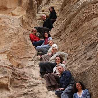 our group at Little Petra