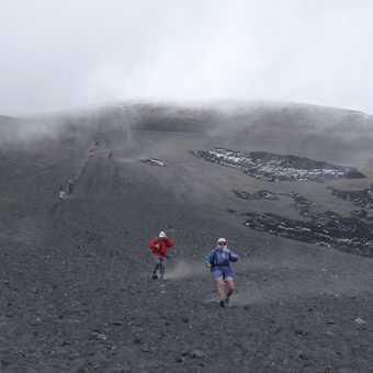 Mt Etna - the quick way down!!