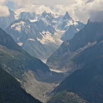 View towards the Glacier