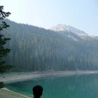 Mountain lake near Zabljak