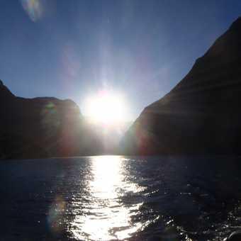Sunrise - Milford Sound