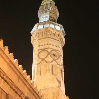 Ummadiyah Mosque at night, Damascus