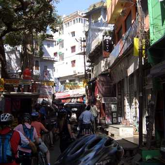 Cycling through Udaipur