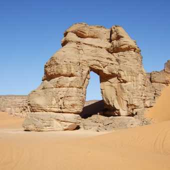 Natural Arch in Acacus