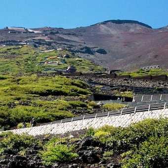 Ascending Mount Fuji