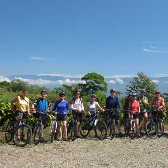 Cycle group shot - highlands