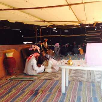 Tea with the bedouins
