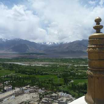 View from Thikse Monastery