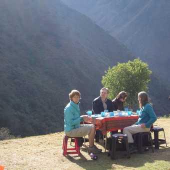 Camping breakfast in style