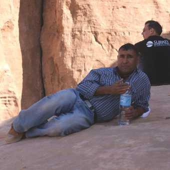 Our guide Yousef Qudah